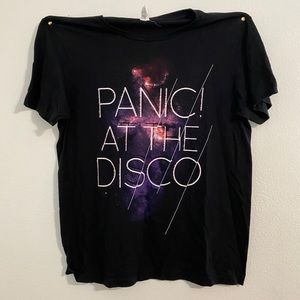 Panic! At The Disco Galaxy T-Shirt (Hot Topic)